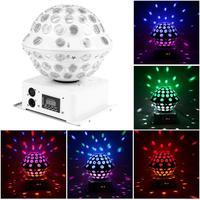 High Brightness Professional 30W RGB LED Crystal Magic Ball Stage Lamp Laser Light KTV Disco Flashing