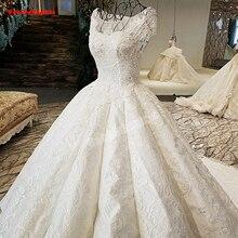 24750 Wedding Dress Satin Ball Gowns Applique Flowers