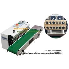 Электрический алюминиевой фольги, ламинированной упаковки почты FR-770 Автоматический Горизонтального Непрерывного Пластиковый Мешок Группа Уплотнение Машина Уплотнителя