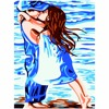 Hand Painted Innocence Of Childhood Friends Oil Painting Wall Art Wall Pictures For Children S Room