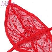 Transparent Lace Teddy Mesh Nightwear