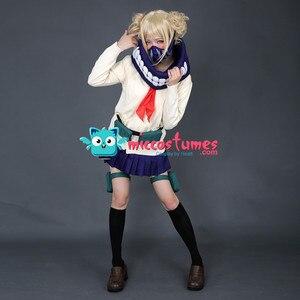 Image 2 - Himiko Toga Cosplay My Hero Academia JK Uniform Cardigan Cosplay Costume