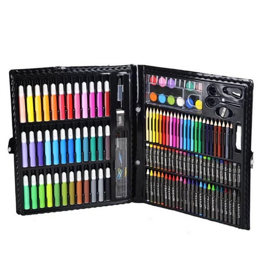 Conjuntos das Crianças Arte Não-tóxico Pintura, Lápis Aquarela