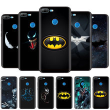 Black Silicone Case Bag Cover for Huawei Honor 10i Y7 Y6 Y5 Y9 8X 8C 8S 9 10 Lite Pro 2018 2019 Enjoy 9E 9S Batman and Venom(China)