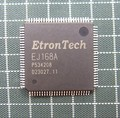 The original 2PCS/LOT ETRONTECH EJ168A QFP100 laptop chip