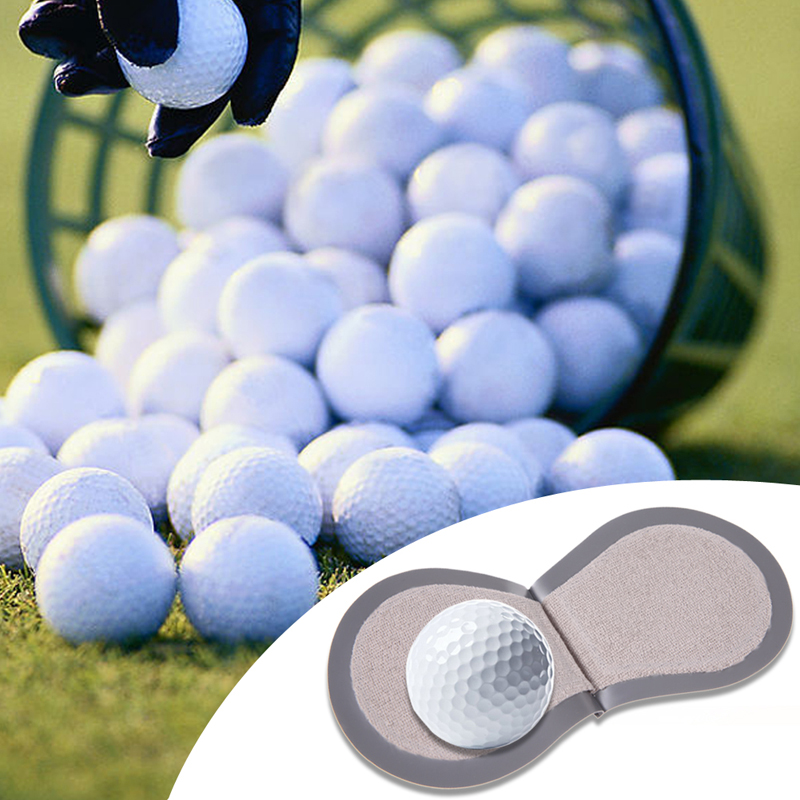Mini Golf Ball Cleaner Wiper Golf Pocker Cleaning Tool Kit Golf Ball Maintance Accessories Balles De Golf Marques