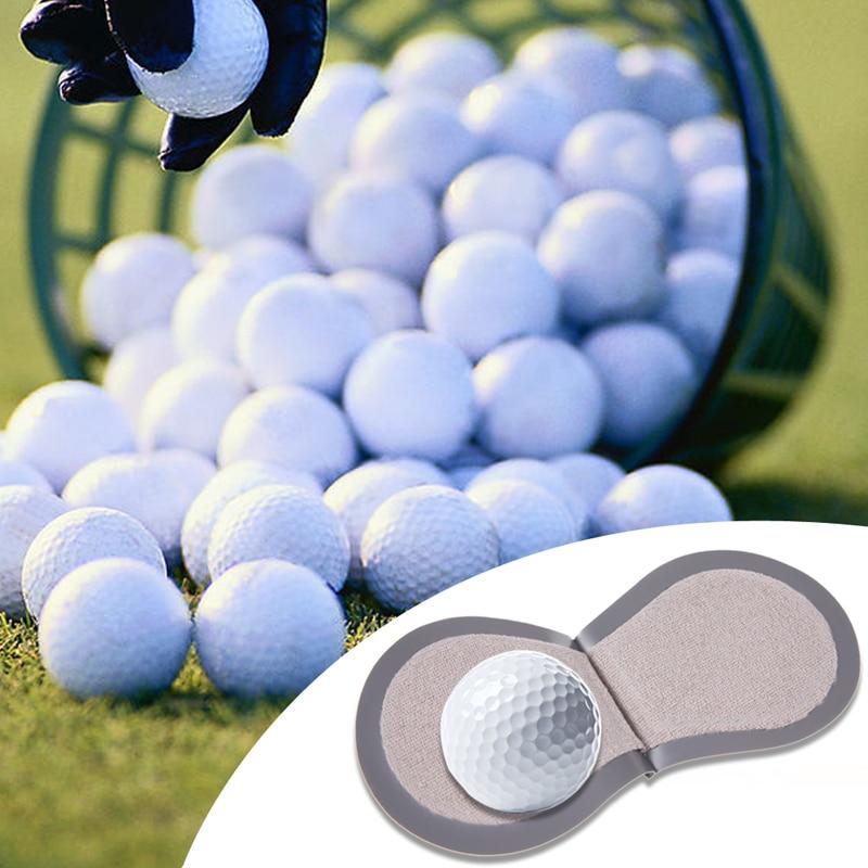 Mini Golf Ball Cleaner Wiper Golf Pocker Cleaning Tool Kit Golf Ball Maintance Accessories Balles De Golf Marques