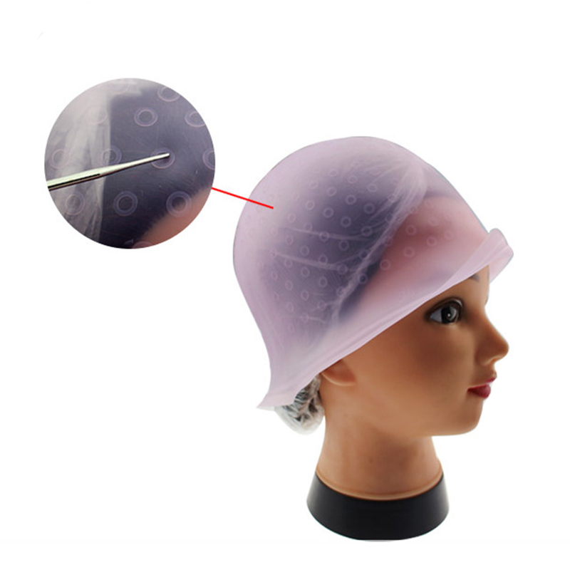 Professional Reusable Salon Hair Color Coloring Highlighting Dye Cap for Hair Extension Styling Tools Barber Beauty Hair Salon 5