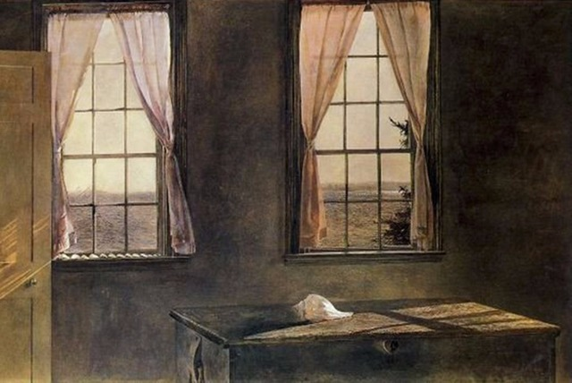 Célèbre Wyeth Andrew Jeune femme Américain contemporain haut peintre  MM02