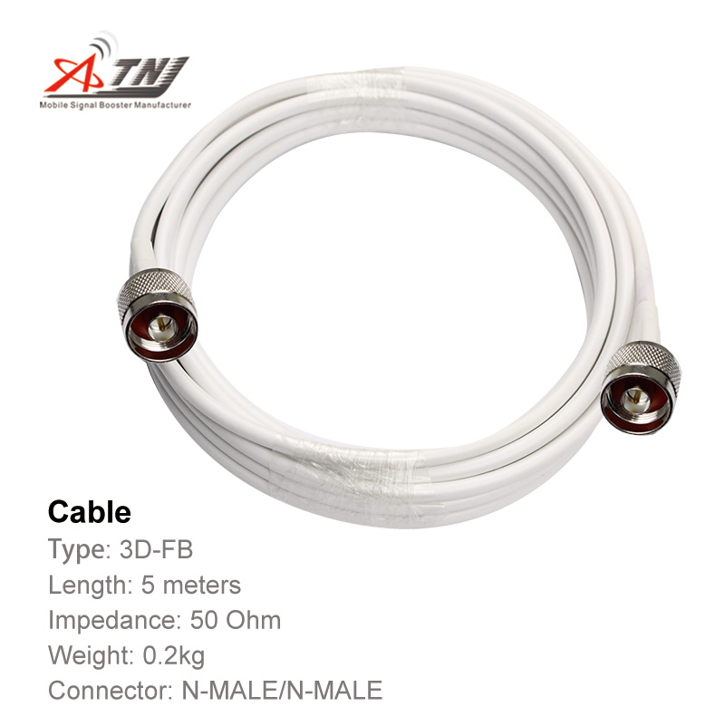 Top Quality ,ATNJ 3D-FB  RG58  5m N-Male/N-Male Coaxial Cable