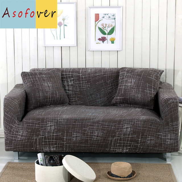 Nordic Style Sofa Cover Elastic Slipcover Cubre Stretch Furniture Covers Protector For