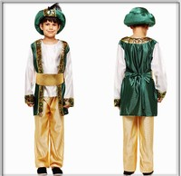 2019 Fantasia Children`s Arab Prince Costume Halloween Boys Kids Arab King Cosplay Costume Fancy Dress Child`s Suit Party Outfit