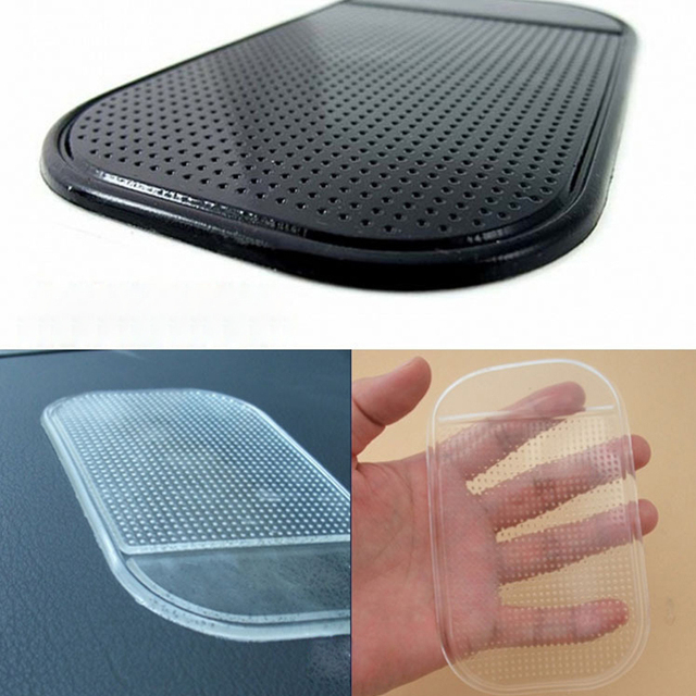 SPEEDWOW Portable Car Mat Magic Sticky Pad Silicone Antiskid Mat Non Slip Mat for Mobile Phone/PDA/mp3/mp4  6 color