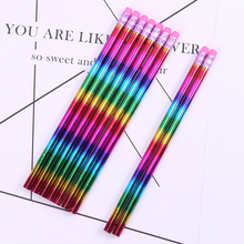 12PCS/Set Beautiful Pencil Wooden HB Environmental Protection Learning Office School Sketch