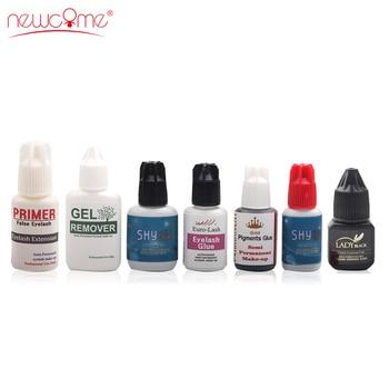 NEWCOME 1 botella todo pegamento para extensión de pestañas de secado rápido extensión de pestañas postizas pegamento durante 6 semanas herramientas profesionales para maquillaje