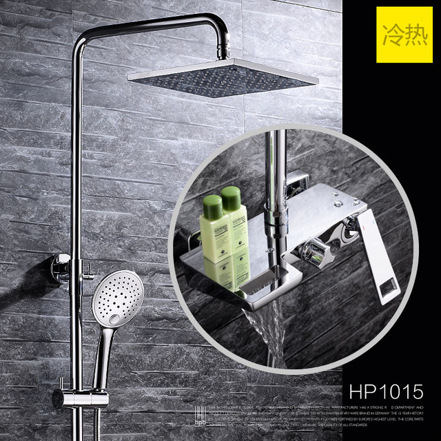 Aliexpress.com : Buy HBP New Design Wall Mounted Shower Set Mixer ...