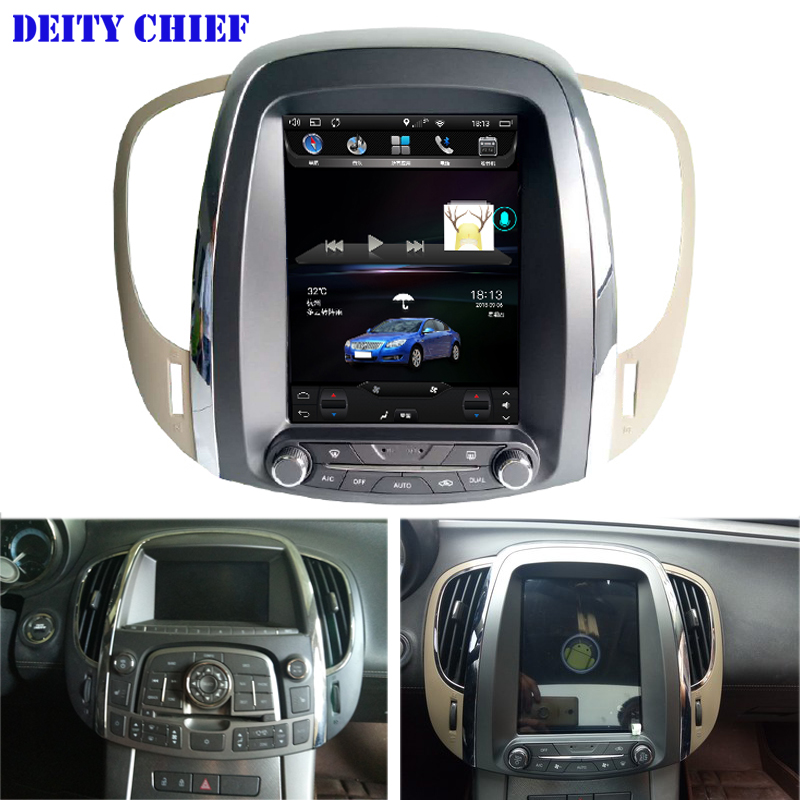 32GB ROM Car Android Multimedia player for buick lacrosse 2009 2012year GPS Vertical screen