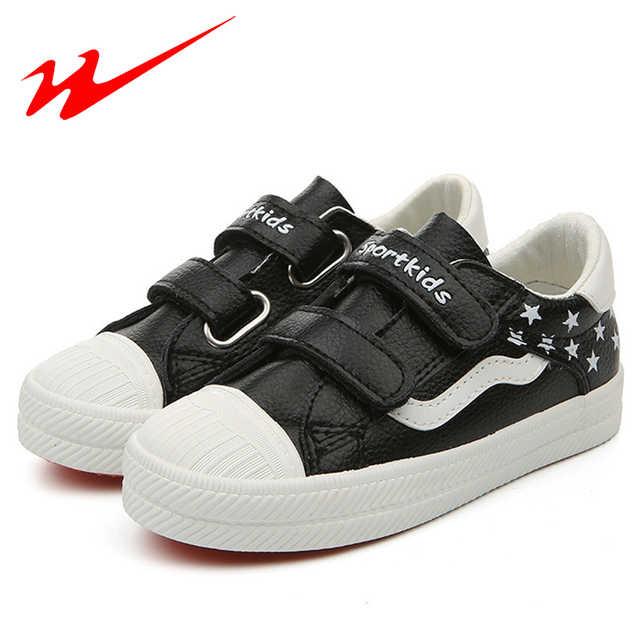 DOUBLE STAR Children Shoes PU Outdoor Walking Shoes With Sequins Summer Velcro Kids Shoes Sport Shoes Girls And Boys Sneakers