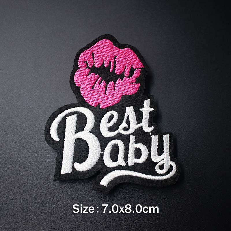 LOVE OOPS POW HEY Mend Patch Badges Embroidered Applique Sewing Clothes Stickers Garment Apparel Accessories Patches LOVE OOPS POW HEY Mend Patch Badges Embroidered Applique Sewing Clothes Stickers Garment Apparel Accessories Patches Badge