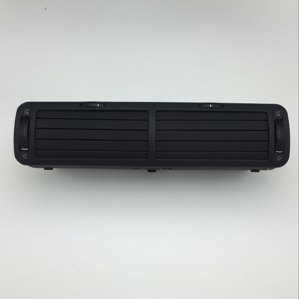 for VW Passat B5 1997-2005 Black Front Dashboard Central Air Vent Outlet A/C Heater 3B0 819 728 A/B/C/D 2AQ tuke 1 set interior air conditioning air vents cable harness for vw r36 cc passat b6 b7 3ad 819 728 a 3ad819701a 3ad 819 702 a