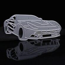 Новые металлические режущие штампы для спортивного автомобиля Скрапбукинг высечки для скрапбукинга DIY тиснение штампы для изготовления поздравительных открыток