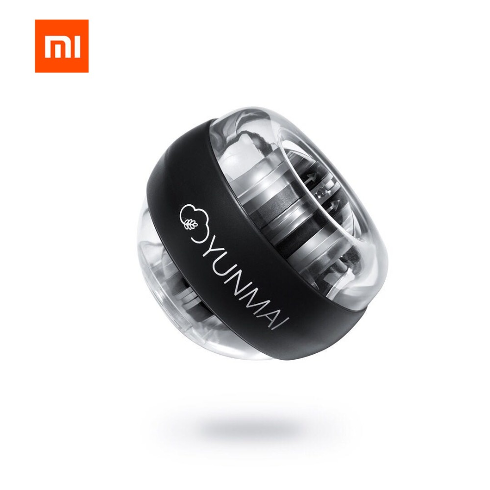 Xiaomi mijia yunmai Wrist Trainer LED Gyroball Essential Spinner Gyroscopic Forearm Exerciser Gyro Ball for Mijia mi home kitsXiaomi mijia yunmai Wrist Trainer LED Gyroball Essential Spinner Gyroscopic Forearm Exerciser Gyro Ball for Mijia mi home kits