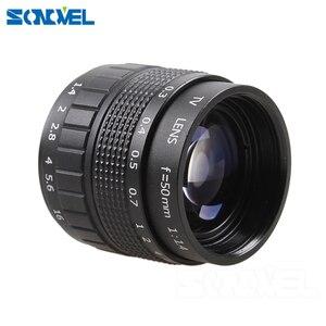 Image 2 - Fujian 3in1 Lente CCTV 25mm f1.4 Lens/35mm f1.7 Lens/50mm f1.4 Kit de Montagem da lente Anel para Olympus Panasonic Micro 4/3 M4/3 M 4/3