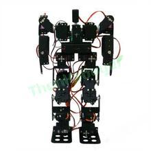 RC Toy 17DOF Humanoid Robot Biped Robotic Educational Robot Kit Servo Bracket with Metal Servo Horn for Arduino DIY