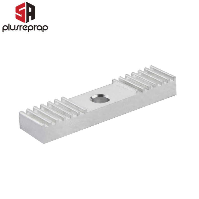 Reprap DIY GT2 เข็มขัดนิรภัยอลูมิเนียม 2mm Clamp คลิป 9*40 มม. CNC สำหรับชิ้นส่วนเครื่องพิมพ์ 3 D