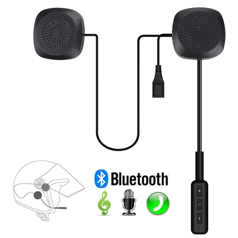 Cewaal Helmet Headset Wireless Bluetooth Headphones Compatible with most Motorcycle Scooter Helmets Hands Free Talking