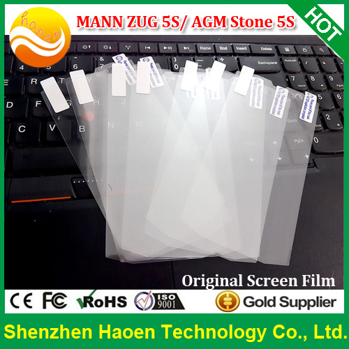 2pcs / lot Original MANN ZUG 5S Screen Protectors Films for IP67 Waterproof 4G LTE Rugged phones AGM Stone 5S Screen Films