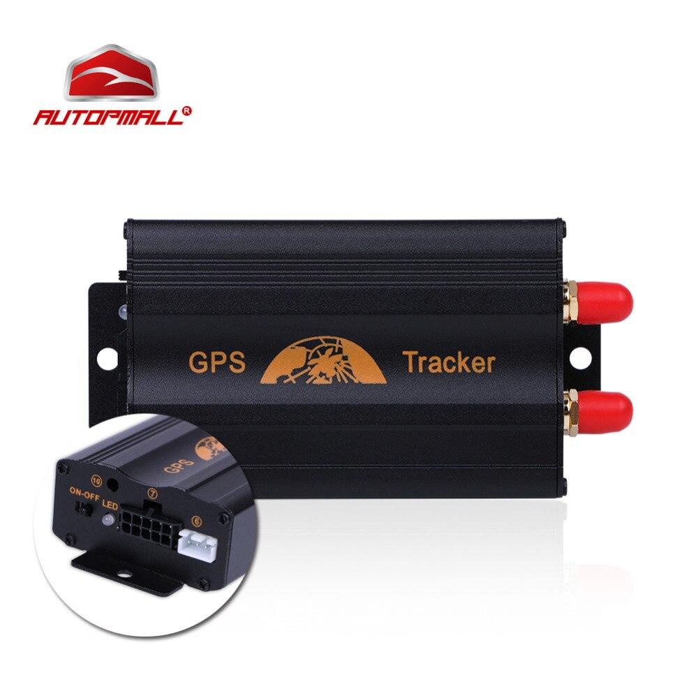 Dispositif de Suivi De voiture Véhicule Coban GPS Tracker TK103A GPS103A Cut Mazout Capteur SOS geo-barrière Sur Vitesse D'alarme Livraison Web APP
