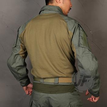 Emerson G3 zaawansowana wersja bojowa koszula taktyczna Airsoft garnitur CP Style Battlefield topy szturmowa jednolita koszula myśliwska tanie i dobre opinie AS-E9244 Drip 60 Cotton 40 Nylon Pasuje prawda na wymiar weź swój normalny rozmiar emersongear CB KH FG