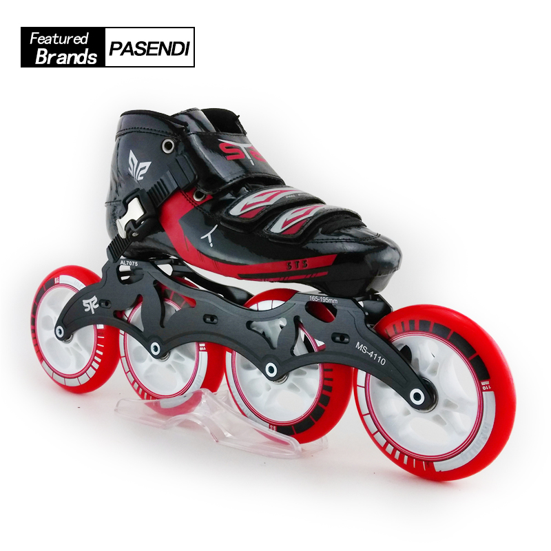 Outdoor Sports Breathable Skating Shoes Professional Roller Skate Shoes Speed Inline Patins Slalom 4 Wheel Roller Skates компрессор fiac euro25