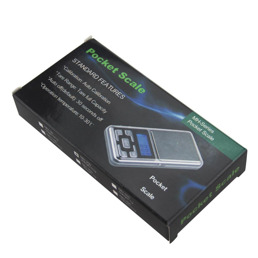 Купить с кэшбэком 200g x 0.01g Mini High Precision Balance Pocket Digital Scale Jewelry Electronic Kitchen Weight Food Diet Herbs Diamond Tea Tool