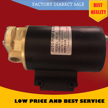 12L/min Portable Self Suction Electric Mini Oil Gear Pump Diesel/ Lubricating Oil Pump