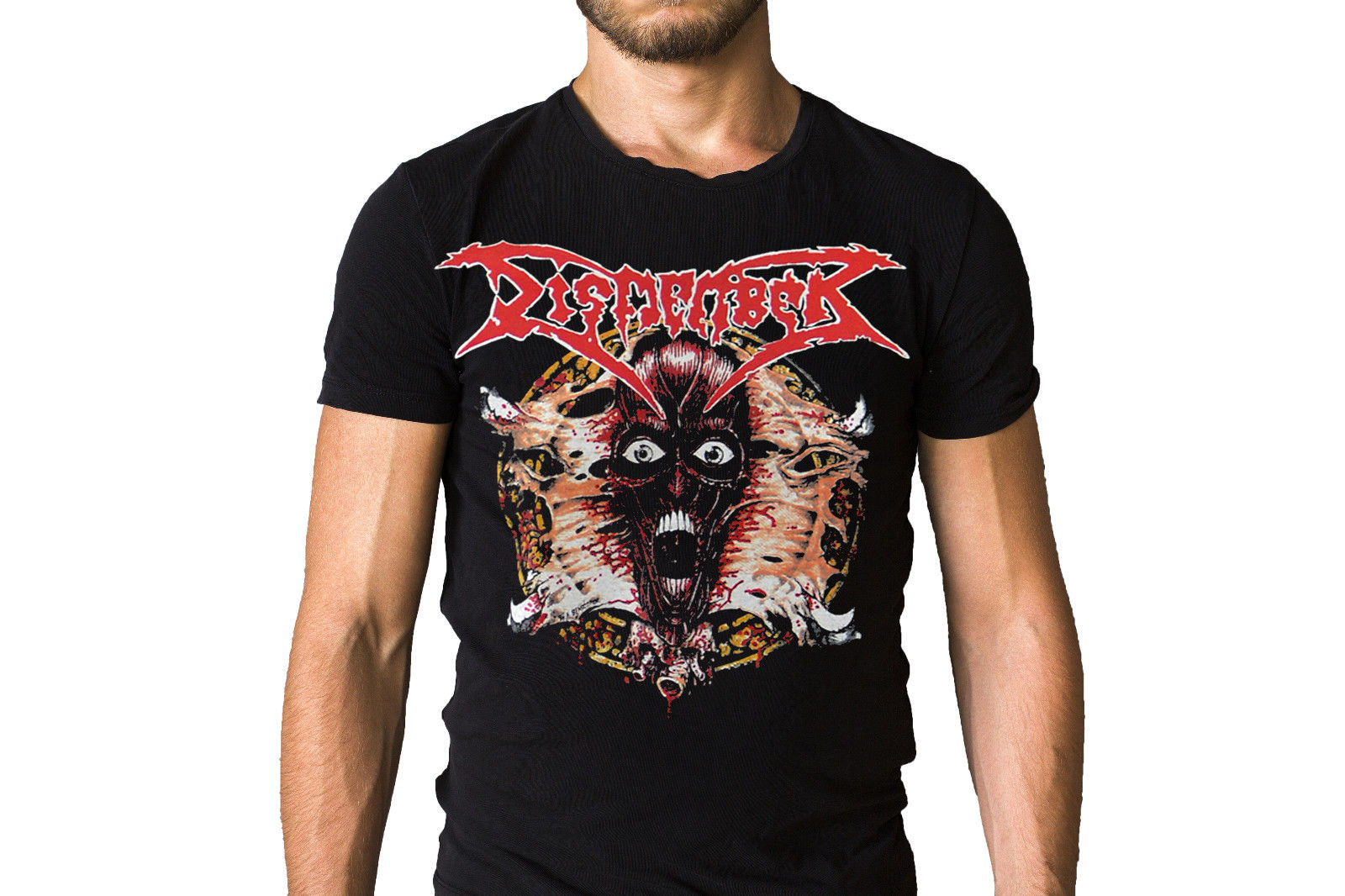 Dismember Band Face Ripper Logo T-Shirt New T Shirts Unisex Funny Tops Tee Fresh Design Summer Good Quality Funny