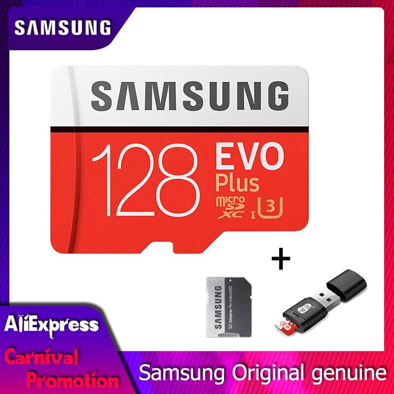 SAMSUNG Speicher Karte Class10 Flash TF Micro SD Karte U3/U1 4 karat 256 gb 128 gb 64 gb 32 gb 16 gb 100 MB/s Microsd Karte für Handy