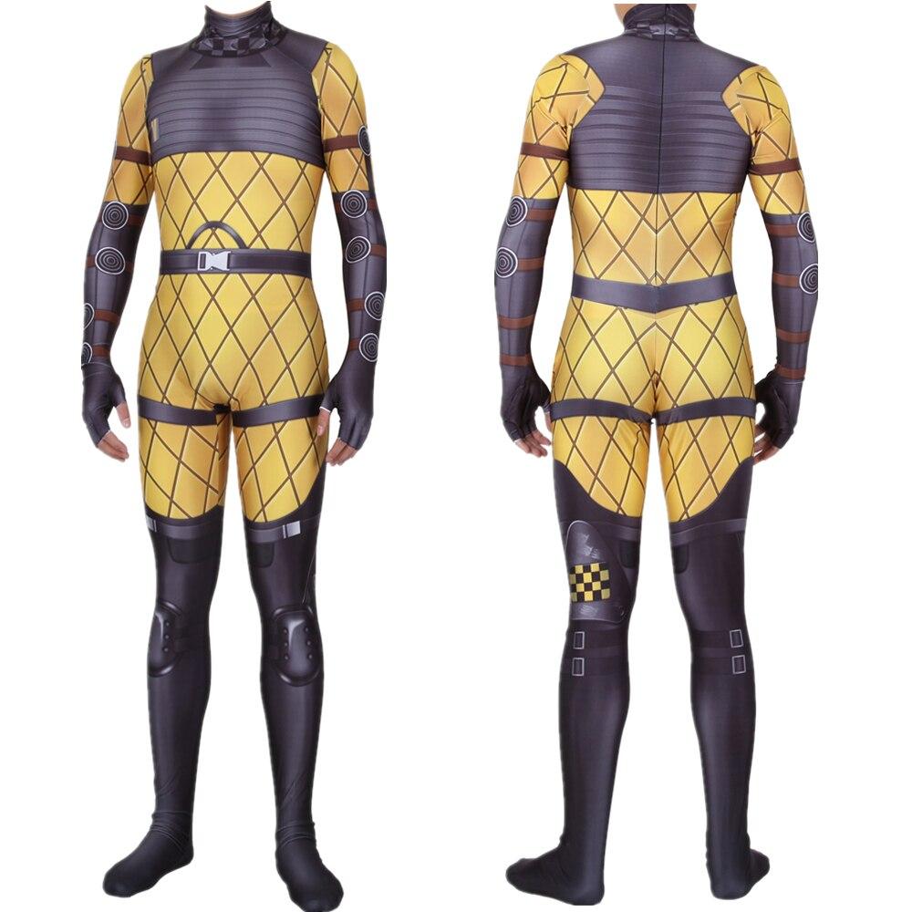 Adult Kids Game Apex Legends Mirage Cosplay Costume Zentai Bodysuit Suit Jumpsuits