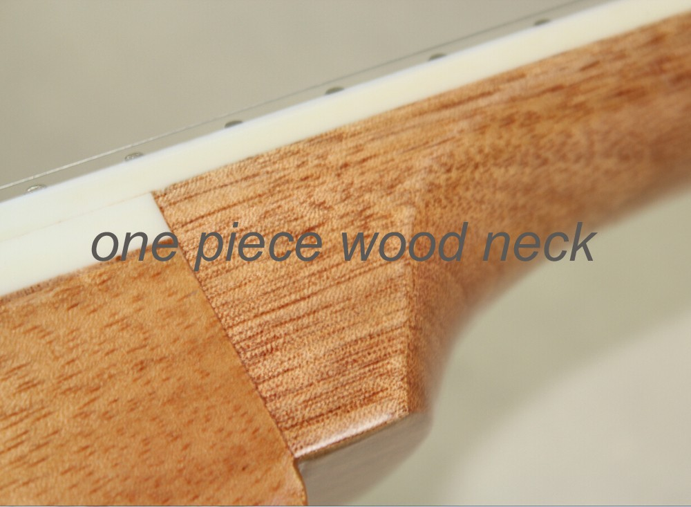 One piece wood neck ,  this link  just for pay different, please don't pay one piece wood neck this link just for pay different please don t pay