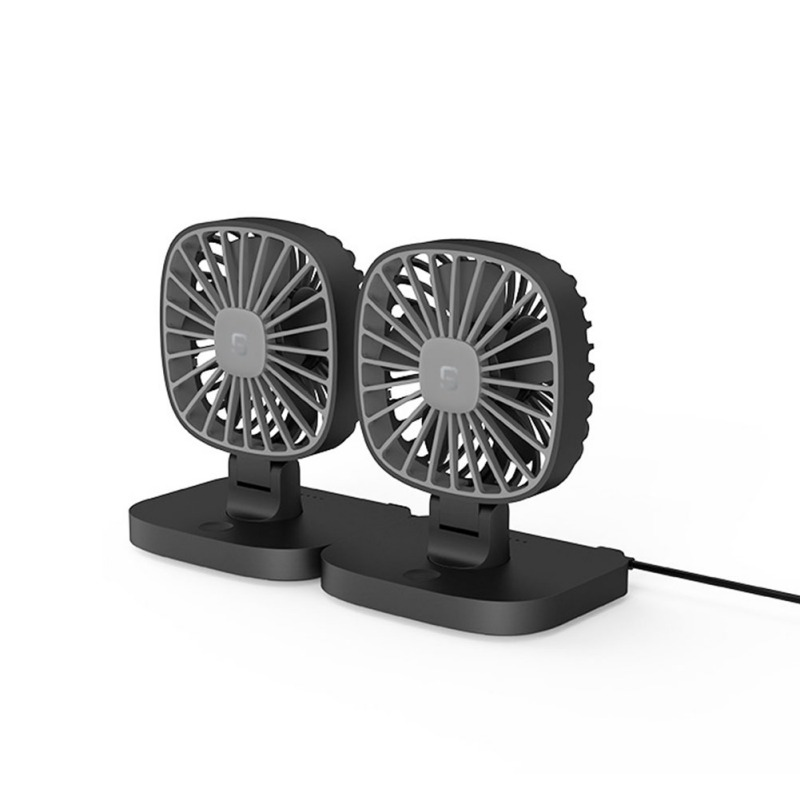 Low Noise Electric Fan Cooler Summer for Car Truck