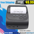 IOS JP-5802LYD 58mm Portátil Bluetooth Impresora Térmica Bluetooth de la ayuda, USB, de serie, impresora móvil Android soporte, IOS, ganar