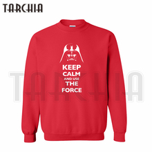 TARCHIA Free Shipping European Style fashion casual Parental men sweatshirt star worlds Use The Force personalized