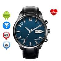 Android Smart часы DH5 Air MTK6580 4 ядра 1. 3G Гц 1 ГБ 8 ГБ Поддержка 3G WI FI GPS сердечного ритма наручные часы для IOS Android
