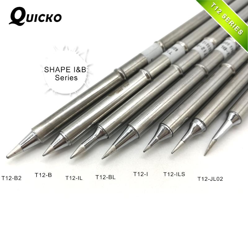 SHAPE I&B Series T12-B2 T12-B IL T12-BL T12-I ILS JL02 T12 Iron Tip For FX951 STC AND STM32 OLED Soldering Tip/stinger/sting