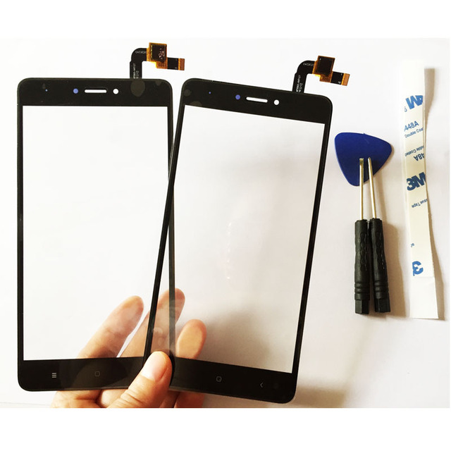 "3 Color 5.5"" Digitizer Touch Screen For Xiaomi Redmi Note 4X Touch Screen Panel With Glue+Free Tools High Quality"