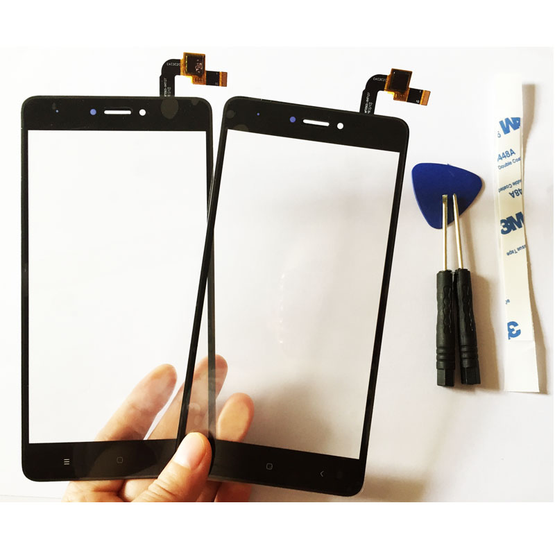 3 Color 5.5 Digitizer Touch Screen For Xiaomi Redmi Note 4X Touch Screen Panel With Glue+Free Tools High Quality