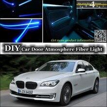 Для BMW 7 F01 F02 интерьерный светильник окружающей среды для настройки атмосферного волоконно-оптического диапазона светильник s освещение внутренней дверной панели(не EL светильник