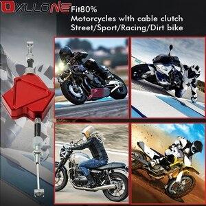 Image 5 - אלומיניום אופנוע פעלולים מצמד מנוף אלומיניום אביזרי קל למשוך כבל מערכת עבור ימאהה YZFR3 YZF R3 2015 2016 2017