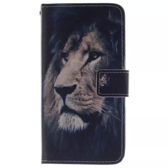New Lion Tiger Owl PU Flip fundas Wallet Leather Stand Cover for Sony Xperia E4 / E4 Dual Cell Phone Cases 20 Patterns